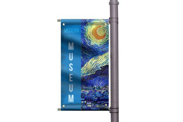 pole banners custom banners