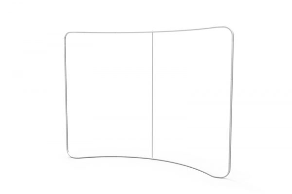 curved tension fabric display 02