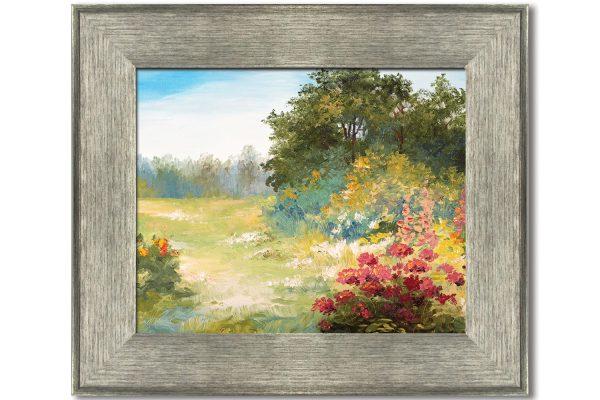 framed artwork prints silver frame